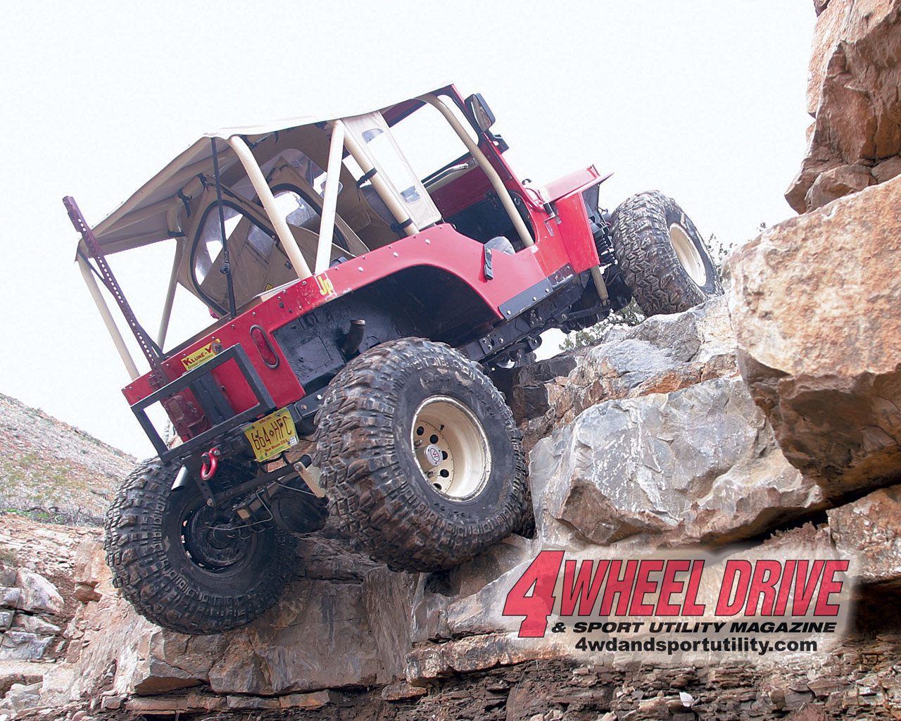 0507 4wd+chili challenge red flatfender+large