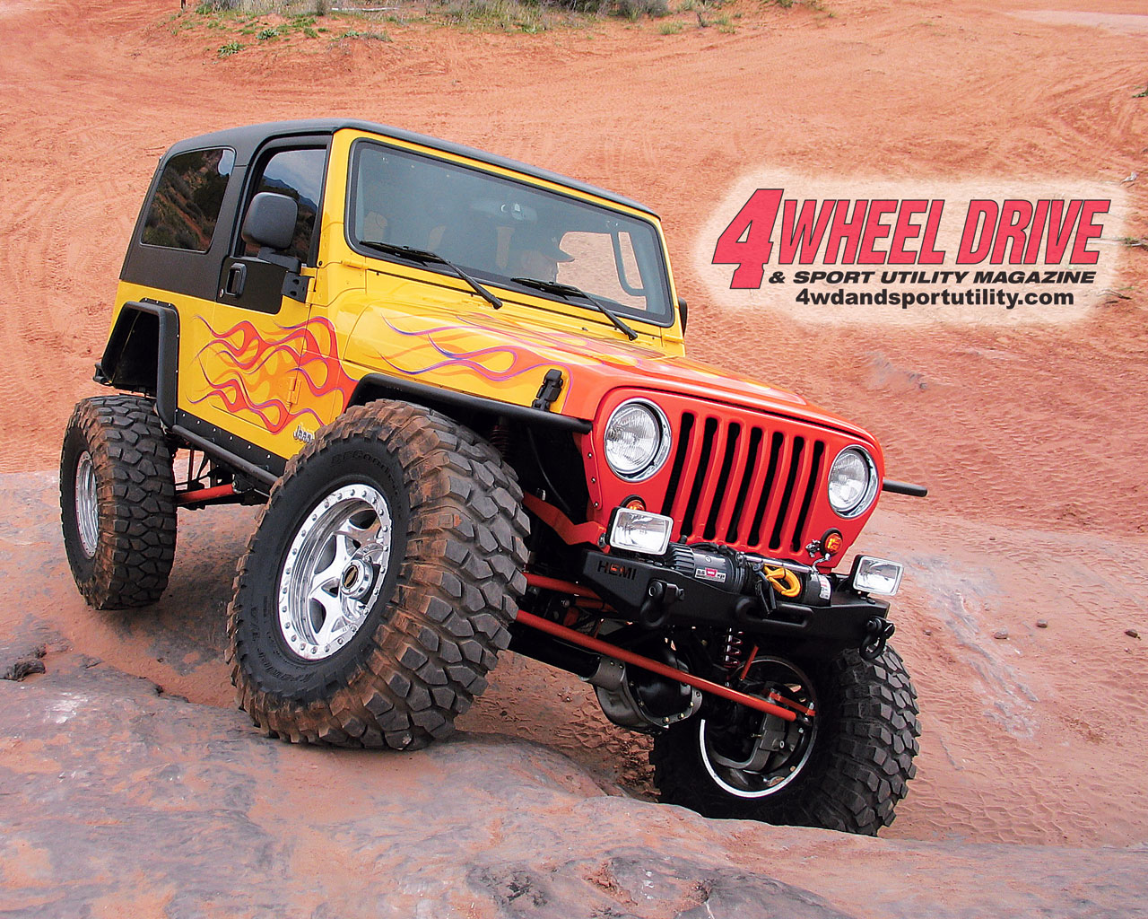 0507 4wd+flamed tj wrangler+large
