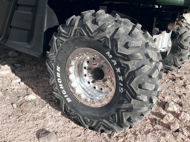 0603or 04 z+off road alternatives yamaha rhino 660+maxxis big horn tires