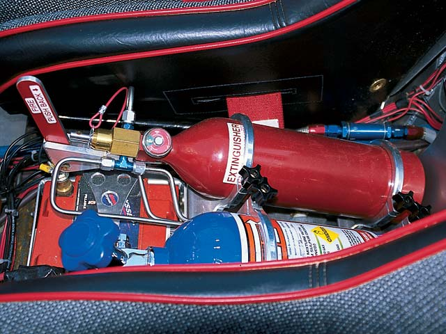 0308or 11z+2002 Olsen Truggy+Interior Shot Extinguisher and Nitrous