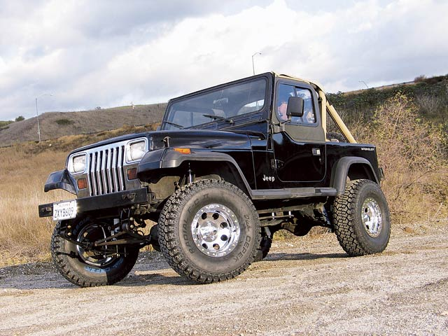 High-Mile Wrangler Suspension Upgrade