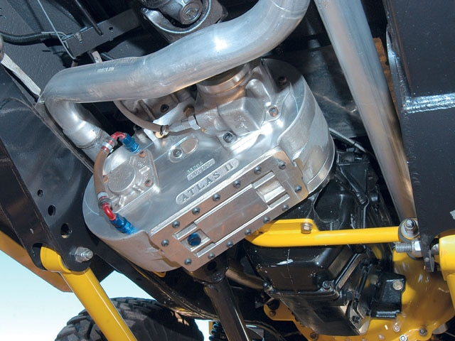 06064WDP 10 z+1969 Ford Bronco+transfer case
