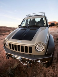 0610 4wd 10 Z 2004 Jeep Liberty Concept Front Hood
