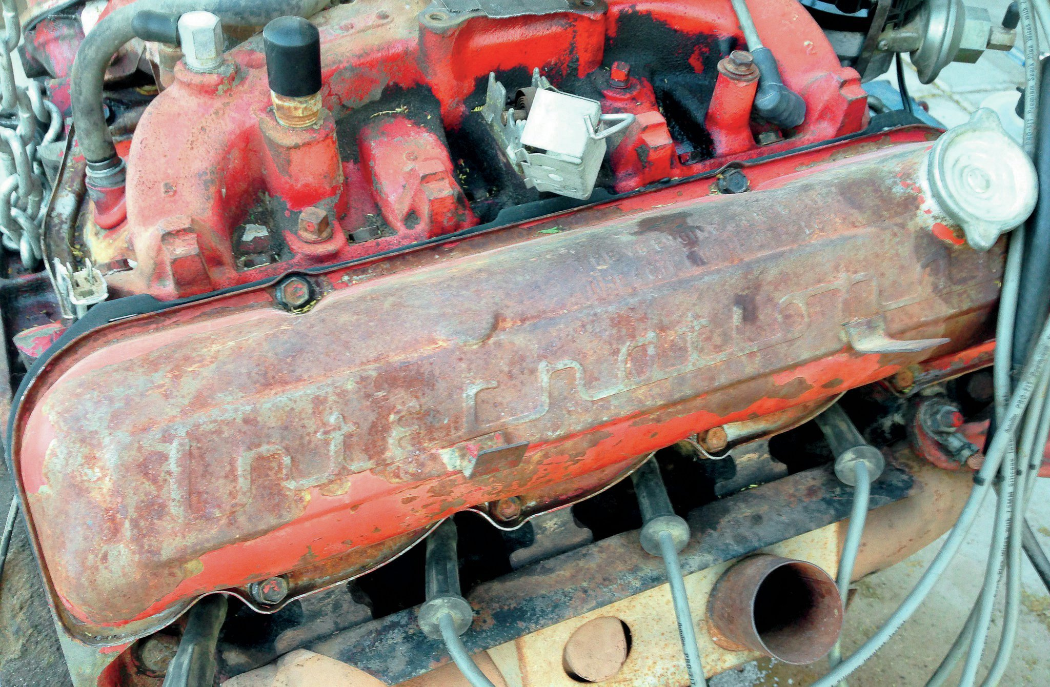 international v8 engine