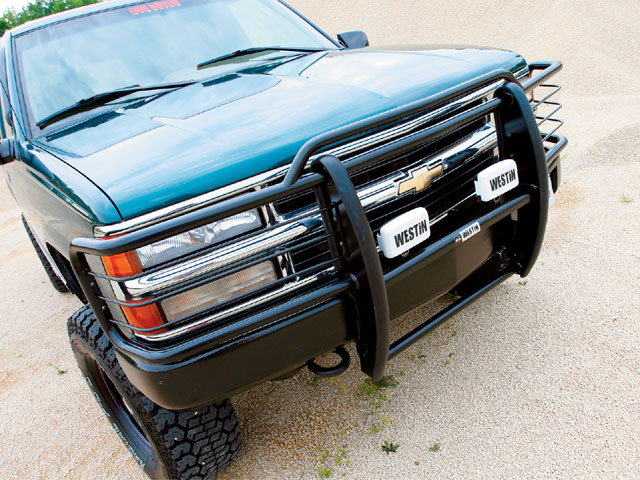1995 Chevy Suburban Brushguard Lights - Guardduty