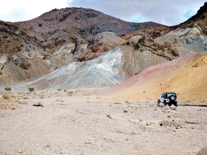 California Trail Ride - Calico Mountains