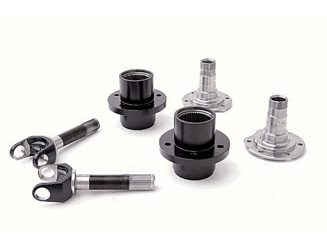 0705 4wd 03 z+dynatrac stub hub coversion kit dana 60 axles