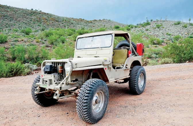 Coker 900-16 STA Super Lugs - Old-School Tire Test