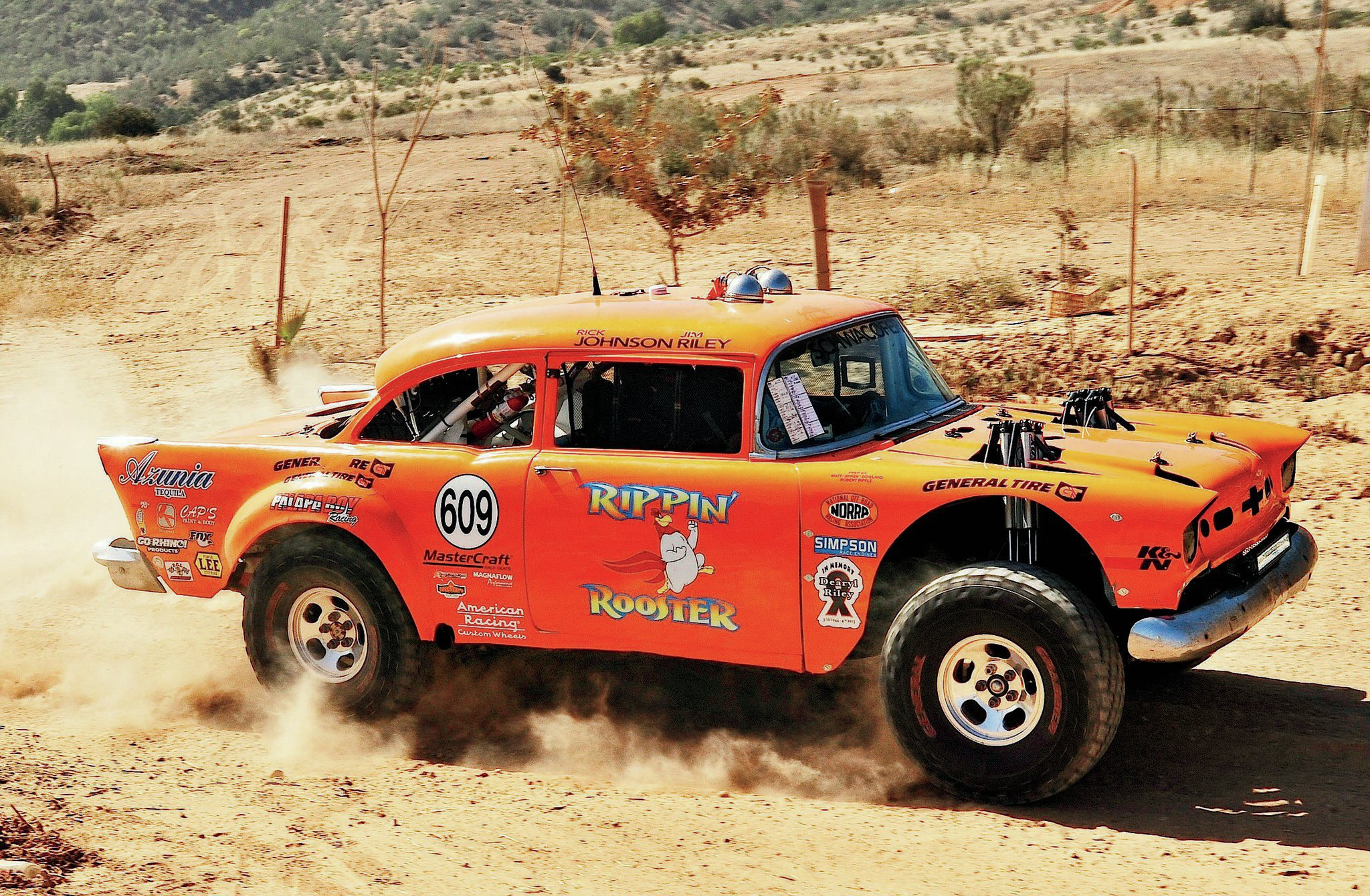 rippin rooster vintage off road race car