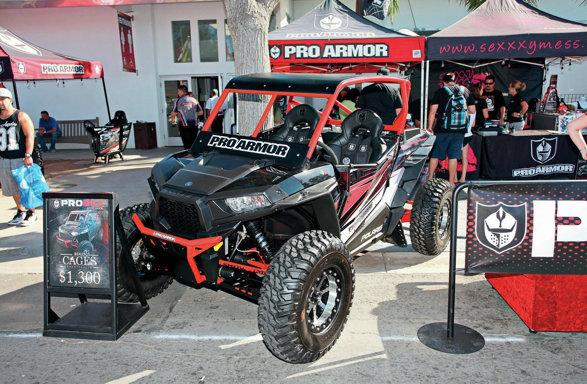 Pro Armor takes good UTVs and makes them better with safety items, 'cages, and bumpers. Their new ProBilt 'cages aim to keep the occupants safe at any speed.