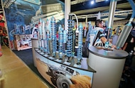 king off road racing shocks booth