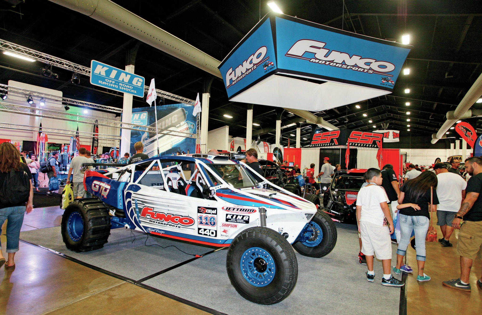 A historic name in off-roading is Funco, and they too were at SSSS to show off their latest creations.