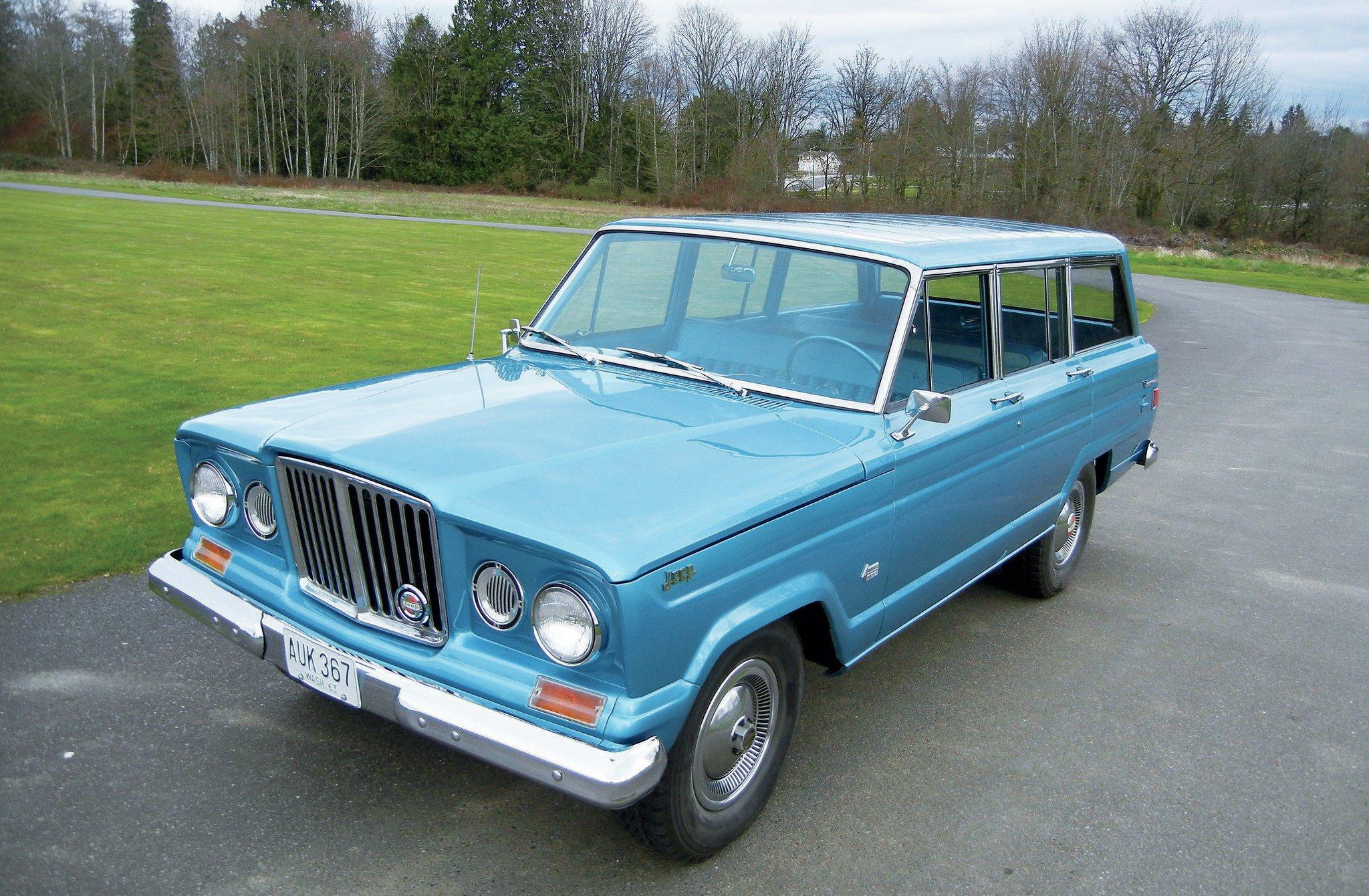 1963 Jeep Wagoneer Custom Backward Glances