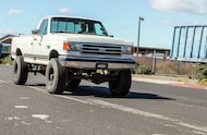 1990 ford f 350 driving