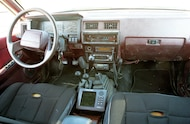 1990 nissan pathfinder interior