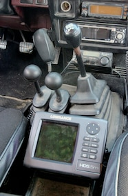 lowrance gps and shifters