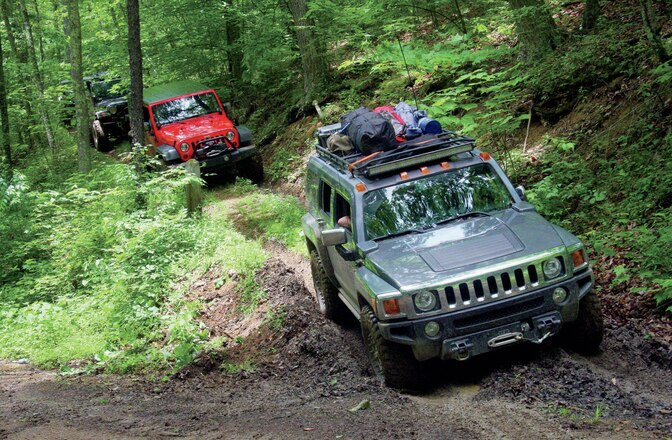 Wheeling The Virginias - Eastern Expedition