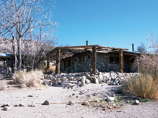 Charles Manson's old hideout can still be found within the park.