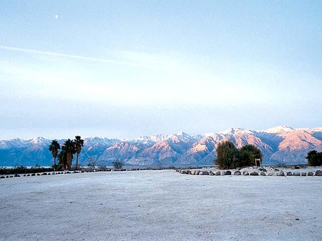 Sunrise in Saline Valley.