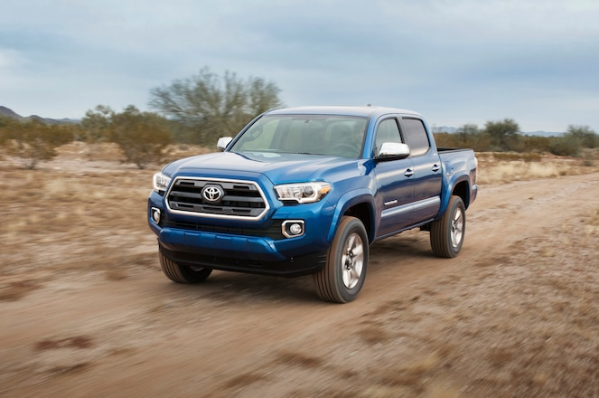 2016 Toyota Tacoma Includes Standard GoPro Mount