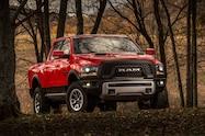 2015 Ram 1500 Rebel front three quarter 4