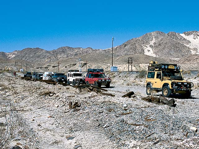 Hitting the trail with a unique array of custom Land Rovers.