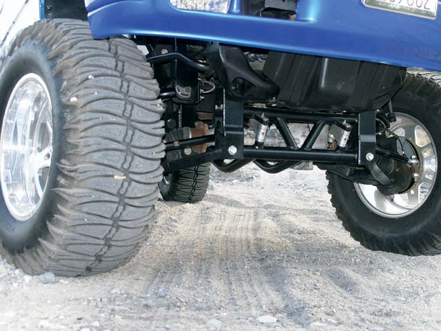 0311or 05z+2002 Chevrolet Silverado Quadrasteer+Front Suspension Lower Bumper