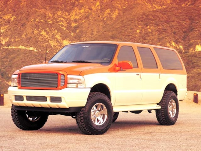 2002 Ford Excursionv - Creamsicle