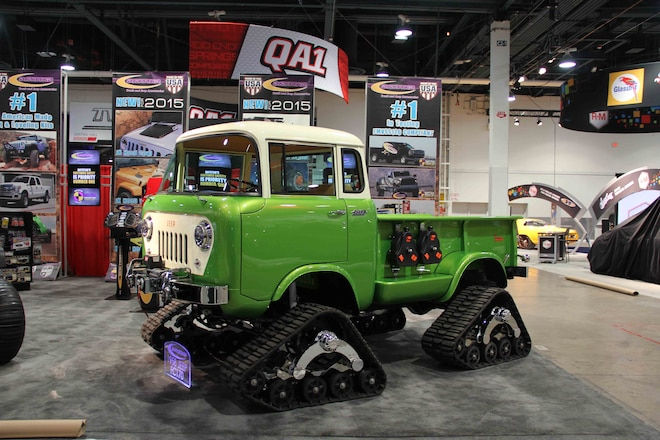 Jeep FC-170s at the 2014 SEMA Show. Is That a Trend?