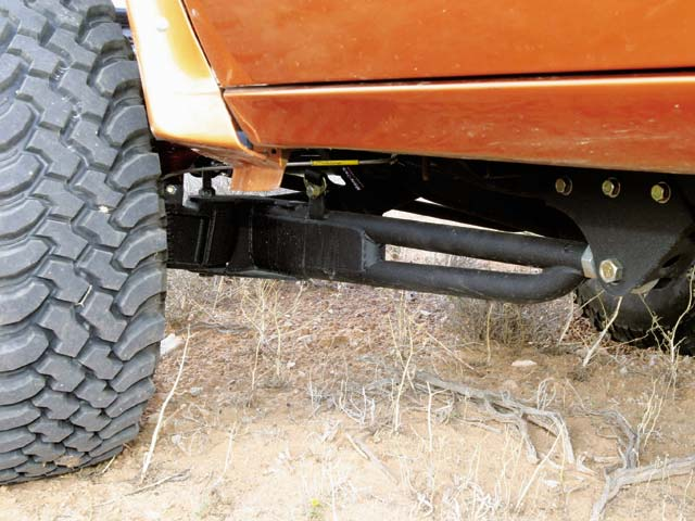0409or 15z+1996 Ford Ranger Super Cab+Rear Suspension Close Up