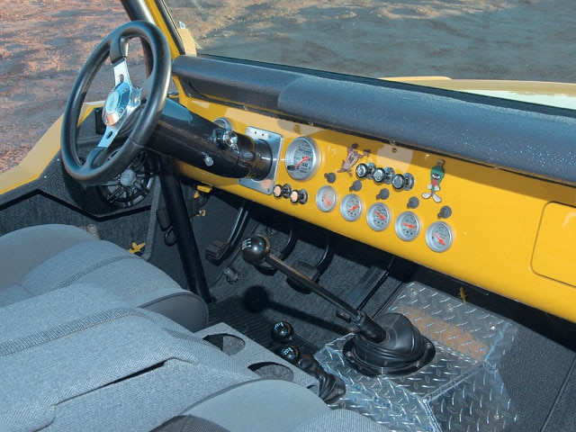 06064WDP 08 z+1969 Ford Bronco+interior dash
