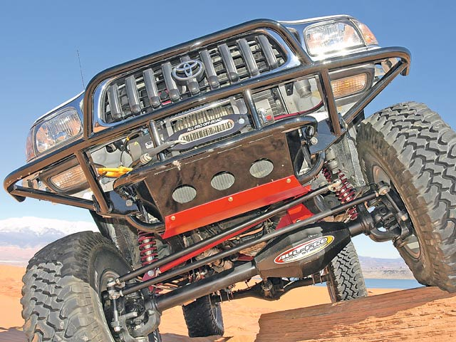 0607or 02 z+taco supreme solid axle toyota+front axle