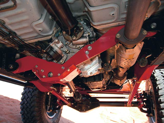 0607or 04 z+taco supreme solid axle toyota+front suspension