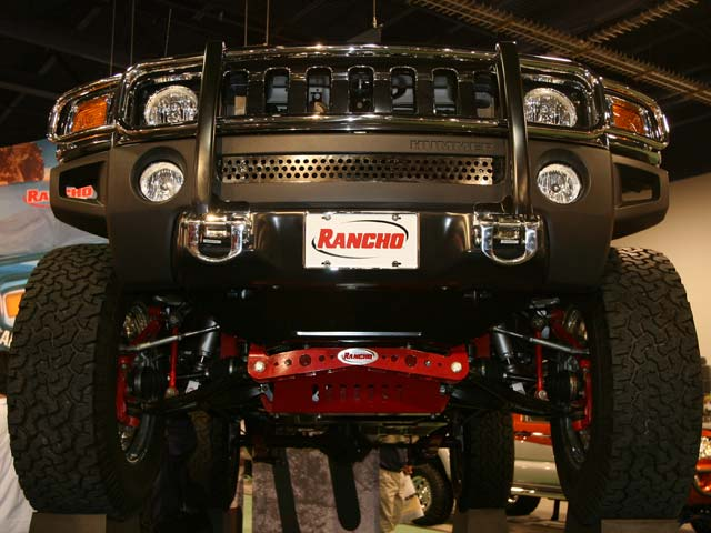 129 05 04z+Hummer+Front View Car In Air