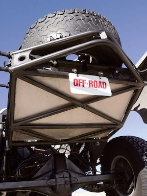 In off-road fabrication, triangles are your friends  The more parts