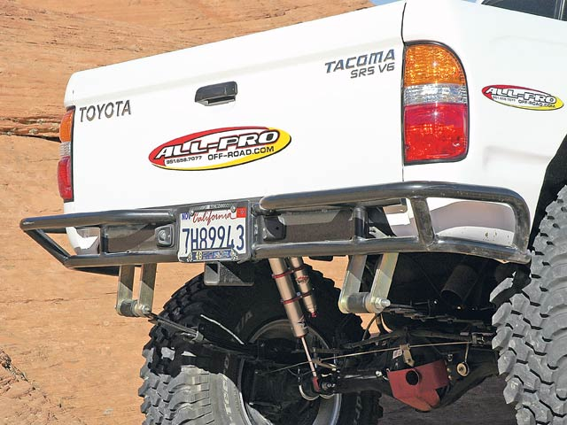 0607or 02 z+taco supreme solid axle toyota+rear bumper