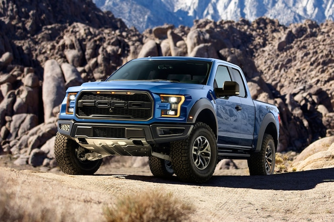 2017 Ford F-150 Raptor Will Make 450 HP