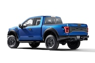 2017 ford f 150 raptor left rear studio