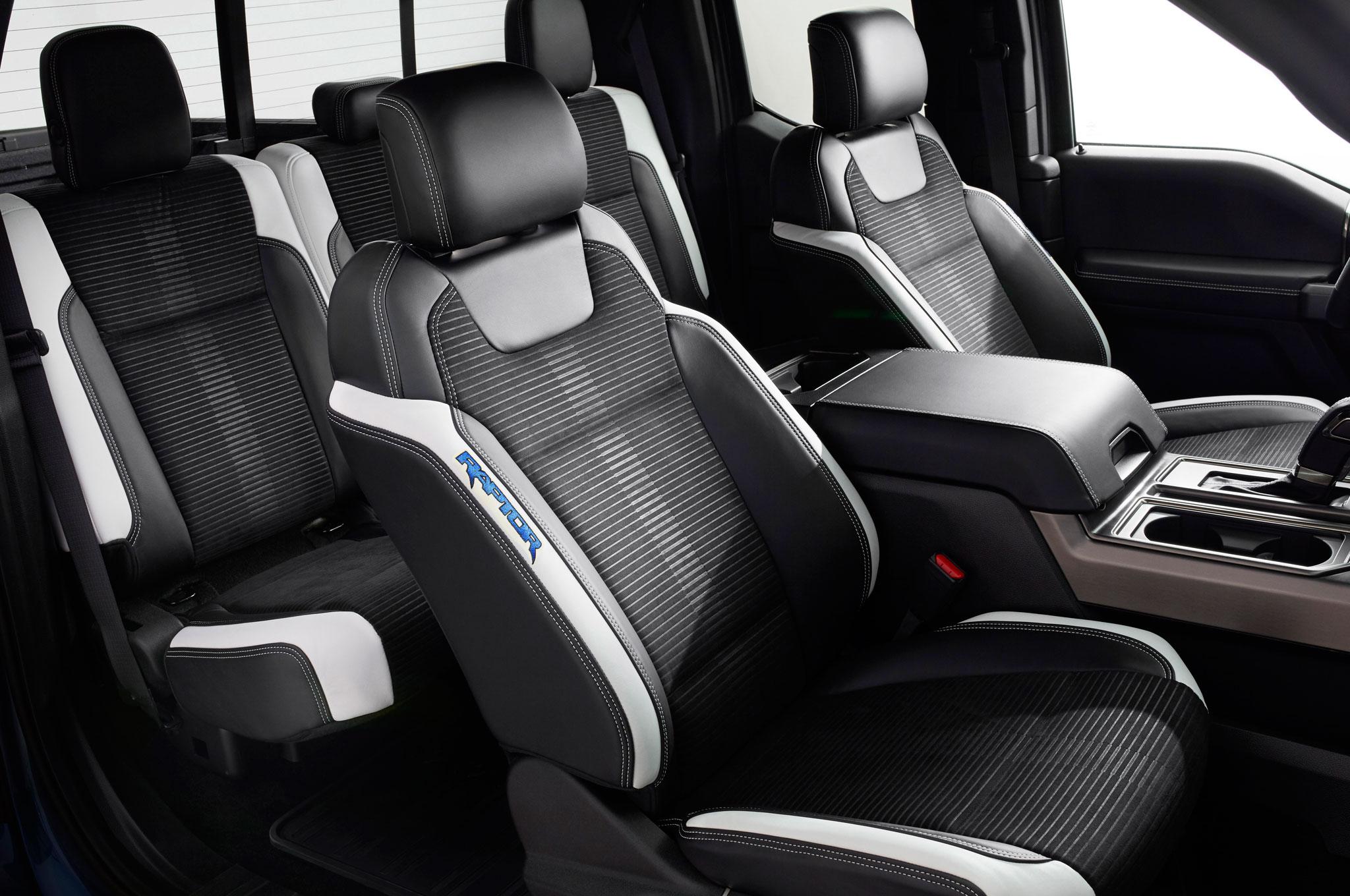 2017 ford f150 raptor interior