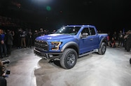 2017 Ford F 150 Raptor front three quarters