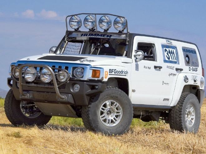 2006 Hummer H3 Race Truck - Project H3