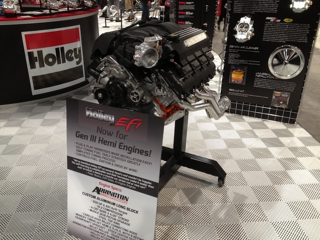 No-hassle Hemi Swap with Holley Self-Learning EFI