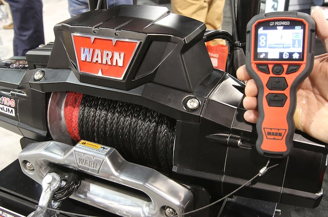 Warn Showcases Two New Products at SEMA Show
