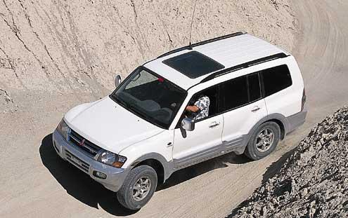 Mitsubishi Montero Limited.