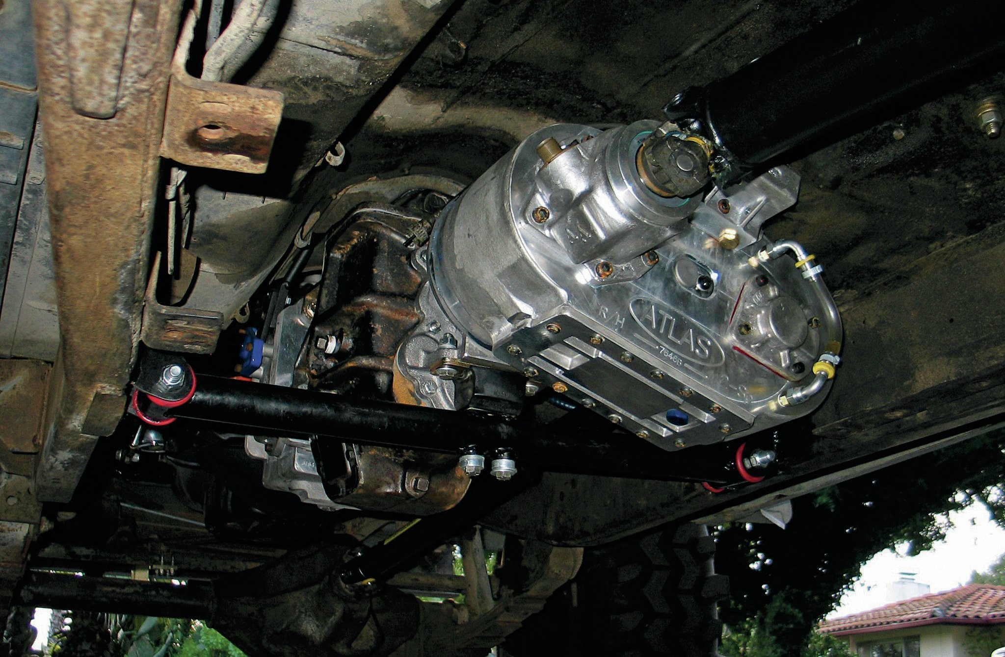advance adapters transfer case