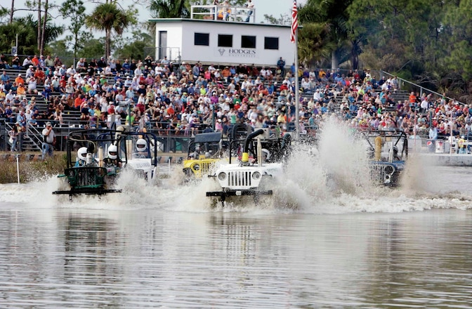 Swamp Buggy Madness At The 2014 Winter Classic