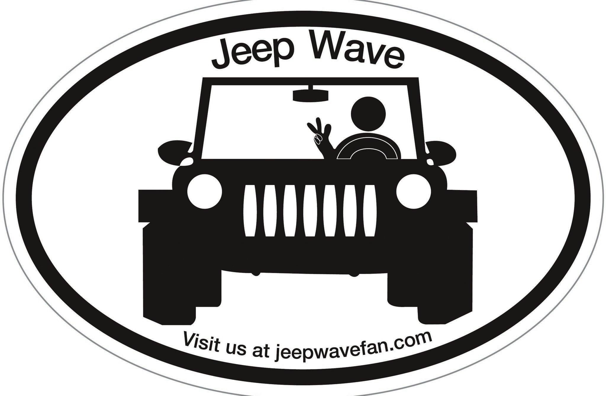 jeep wave sticker