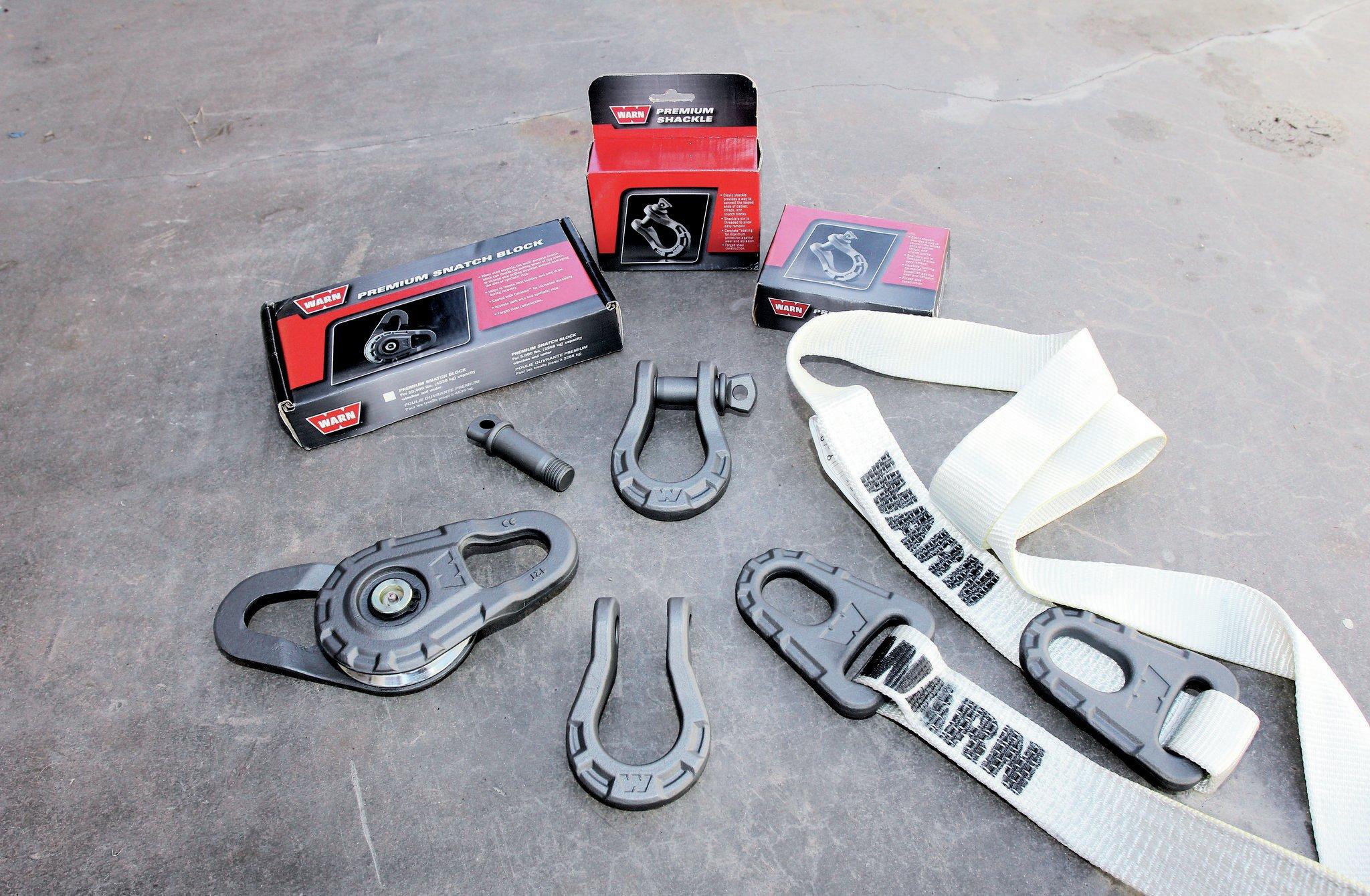 warn winch recovery kit