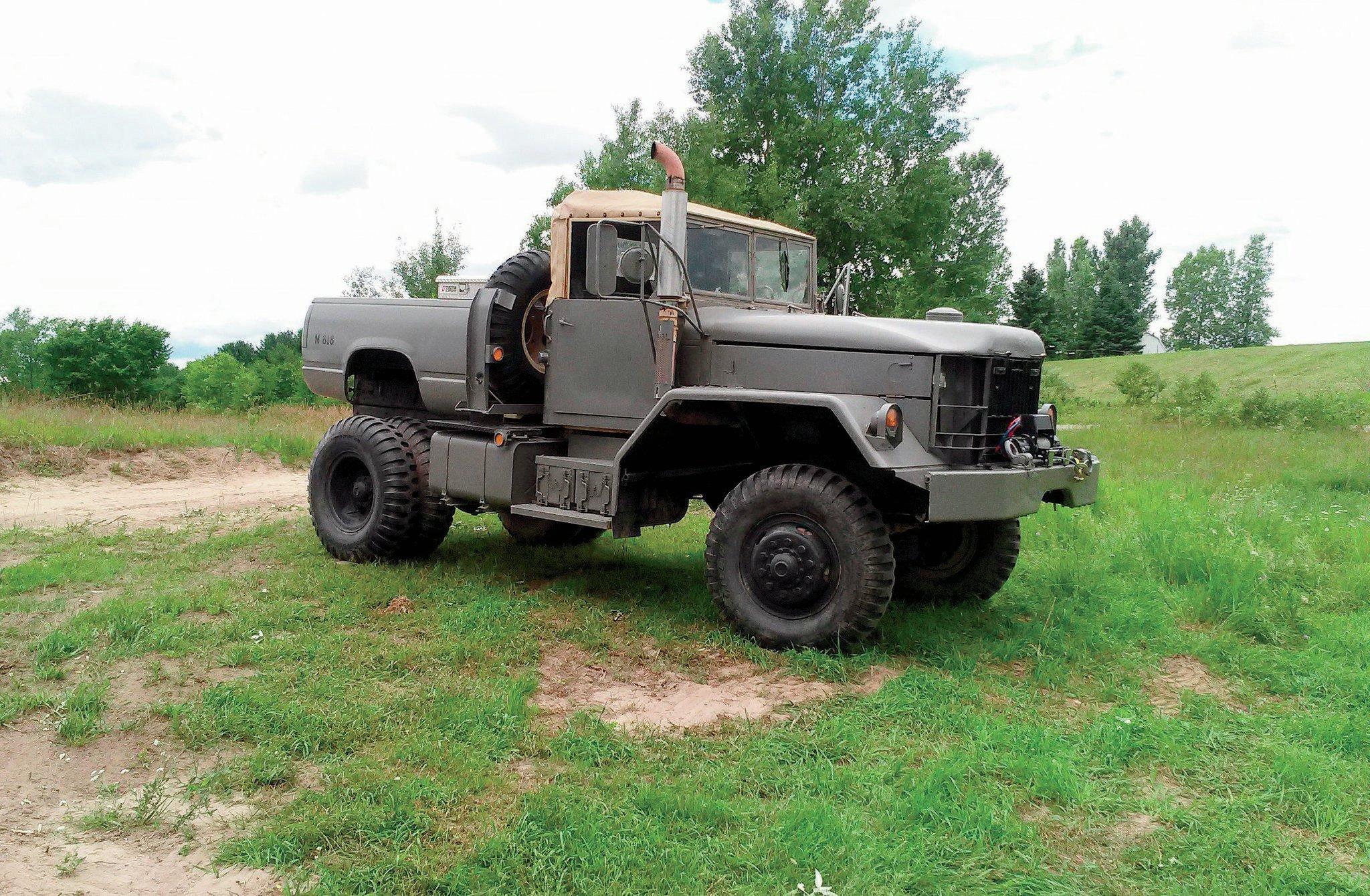 1970 kaiser m818