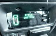 check battery warning